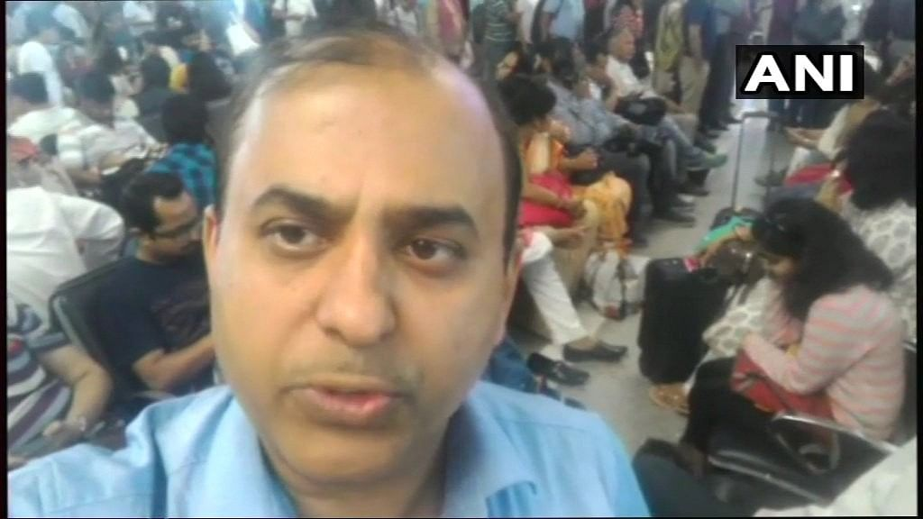 """The passenger, identified as Saurabh Rai, alleged that he was """"manhandled"""" and """"threatened"""" by the crew."""