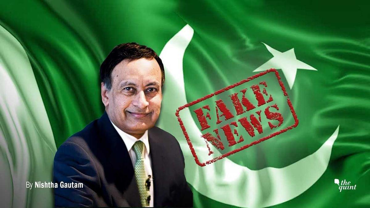 Husain Haqqani Reveals Pakistan's Age-Old Weakness for Fake News