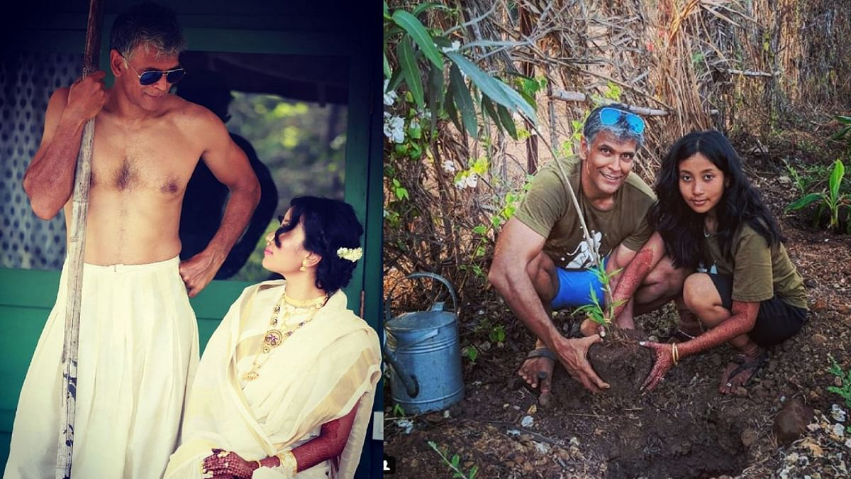 In Pics: Milind Soman and Ankita are on a Post-Wedding High