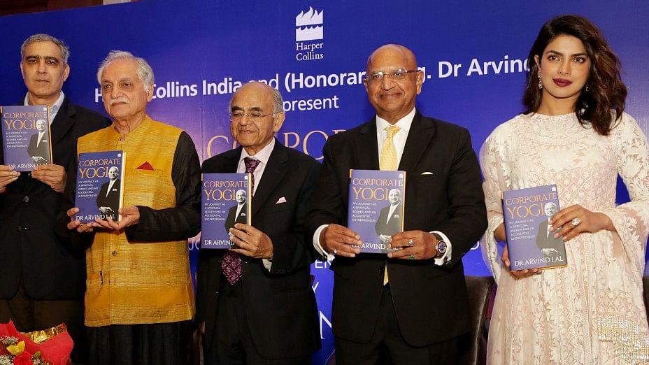Priyanka Chopra at a book launch in Delhi.