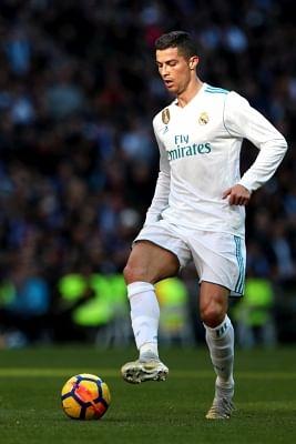 Cristiano Ronaldo. (Xinhua/Juan Carlos Rojas/IANS)