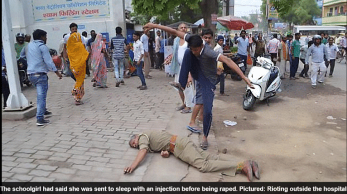 Viral Pics Are Fake, Dalits Didn't Kill A Cop During Bharat Bandh
