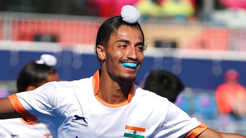"""<div class=""""paragraphs""""><p>Dilpreet Singh was part of the Indian team that won Bronze in the Tokyo Olympics.&nbsp;</p></div>"""