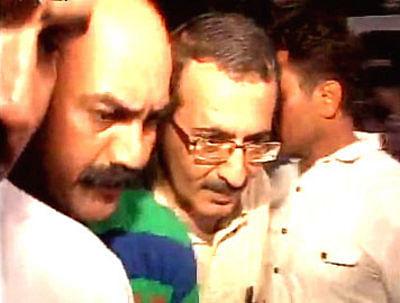 Picture of accused, Sanjeev Khanna, ex-husband of Indrani Mukerjea.