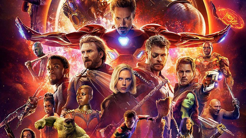 Poster of <i>Avengers: Infinity War</i>.