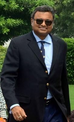Karti Chidambaram, son of former Finance Minister P. Chidambaram.(File Photo: IANS)