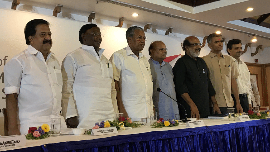 The South Finance Ministers Meet over the 15th Finance Commission has been inaugurated at Thiruvananthapuram.