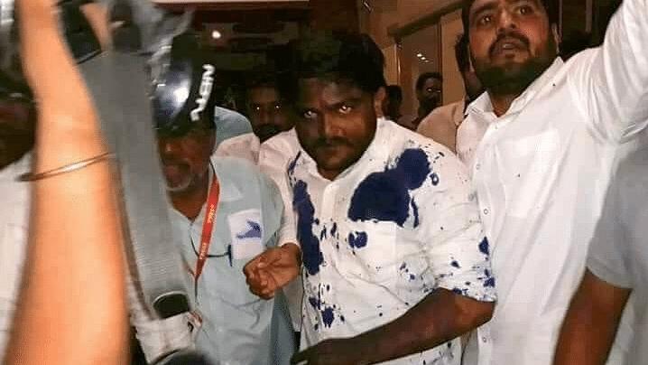 Man Arrested for Throwing Ink at Patidar Leader Hardik Patel