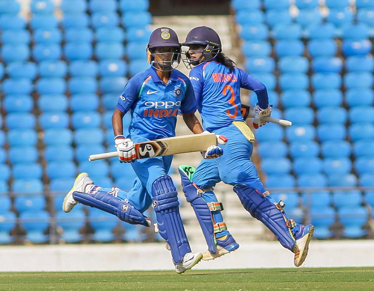 Meanwhile, Indian Women Thrash England & Clinch ODI Series 2-1