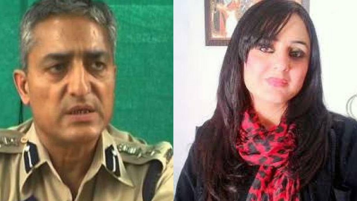 IPS Ramesh Kumar Jalla (left) and Lawyer Deepika Singh Rajawat (right).
