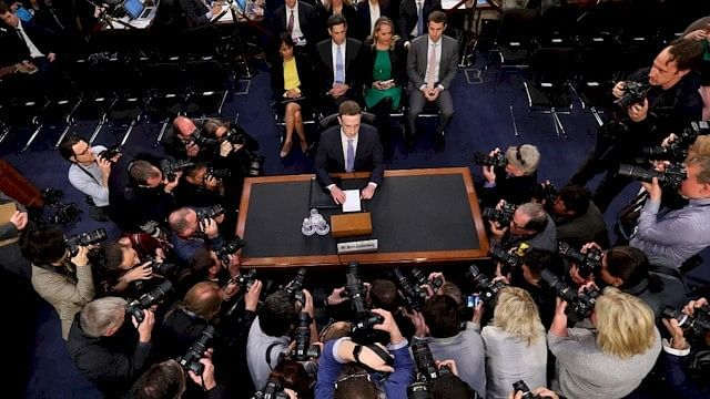 In Senate Hearing, Zuckerberg Protects His Own Privacy Just Fine