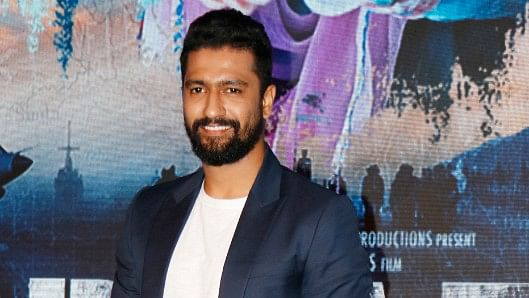 Vicky Kaushal at the event.