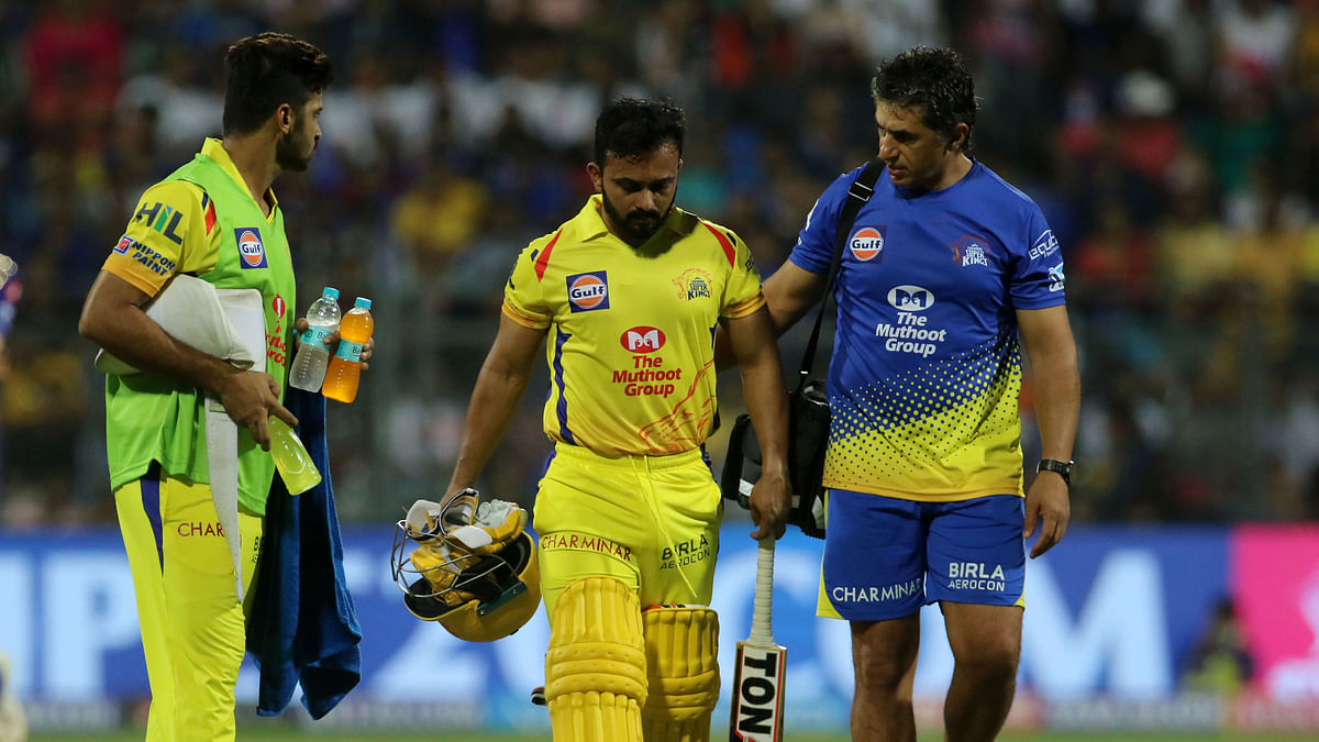 Bad News for CSK: Kedar Jadhav Ruled Out of IPL 2018