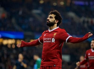 Mohamed Salah. (Xinhua/IANS)