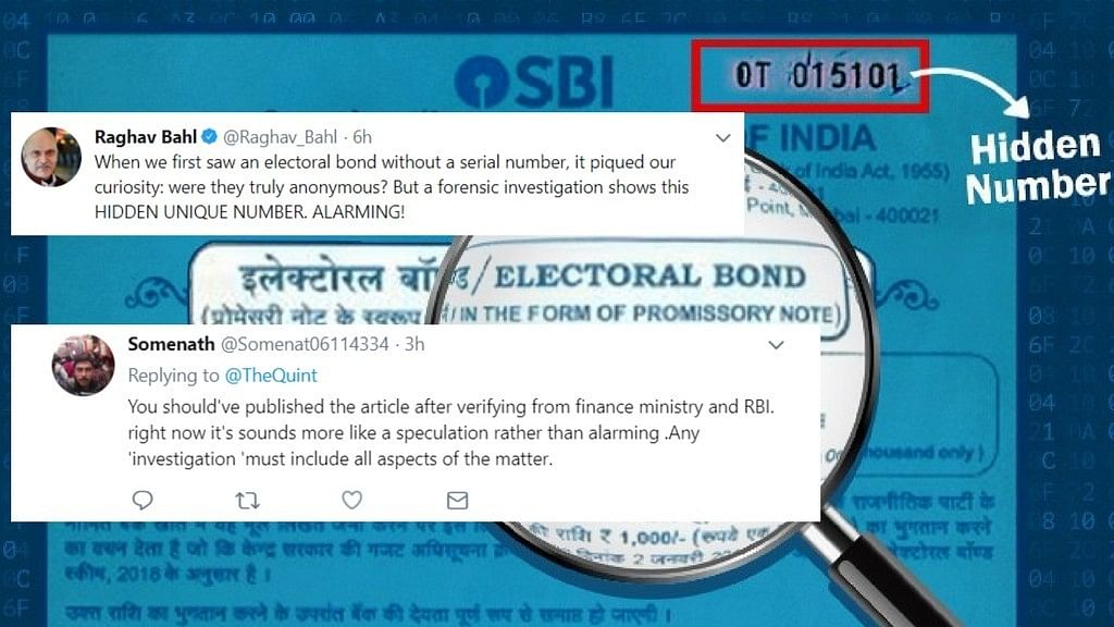 Twitter divided on The Quint's Electoral Bond exposé