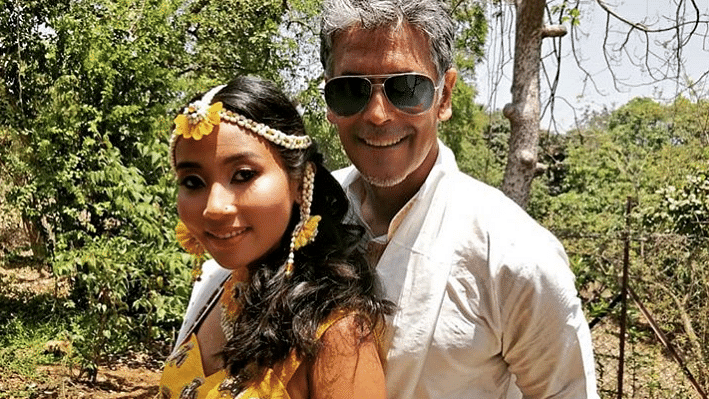 In Pics: Milind Soman & Ankita Konwar's Pre-wedding Shenanigans