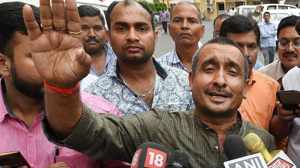 BJP MLA from Unnao Kuldeep Singh Sengar.