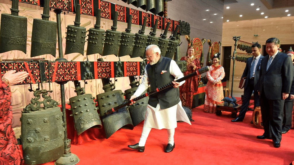 In Photos: Modi, Xi Spend Quality Time at Wuhan Museum in China