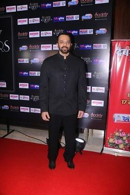 """Mumbai: Director Rohit Shetty at the """"Society Achievers Awards 2018"""" in Mumbai on Jan 14, 2018. (Photo: IANS)"""