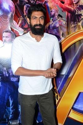 Actor Rana Daggubati . (File Photo: IANS)
