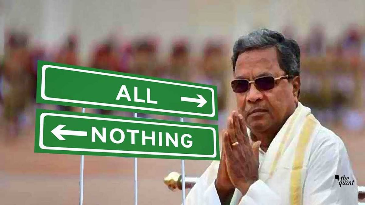 The Curious Case of Siddaramaiah: It's All or Nothing in 2018