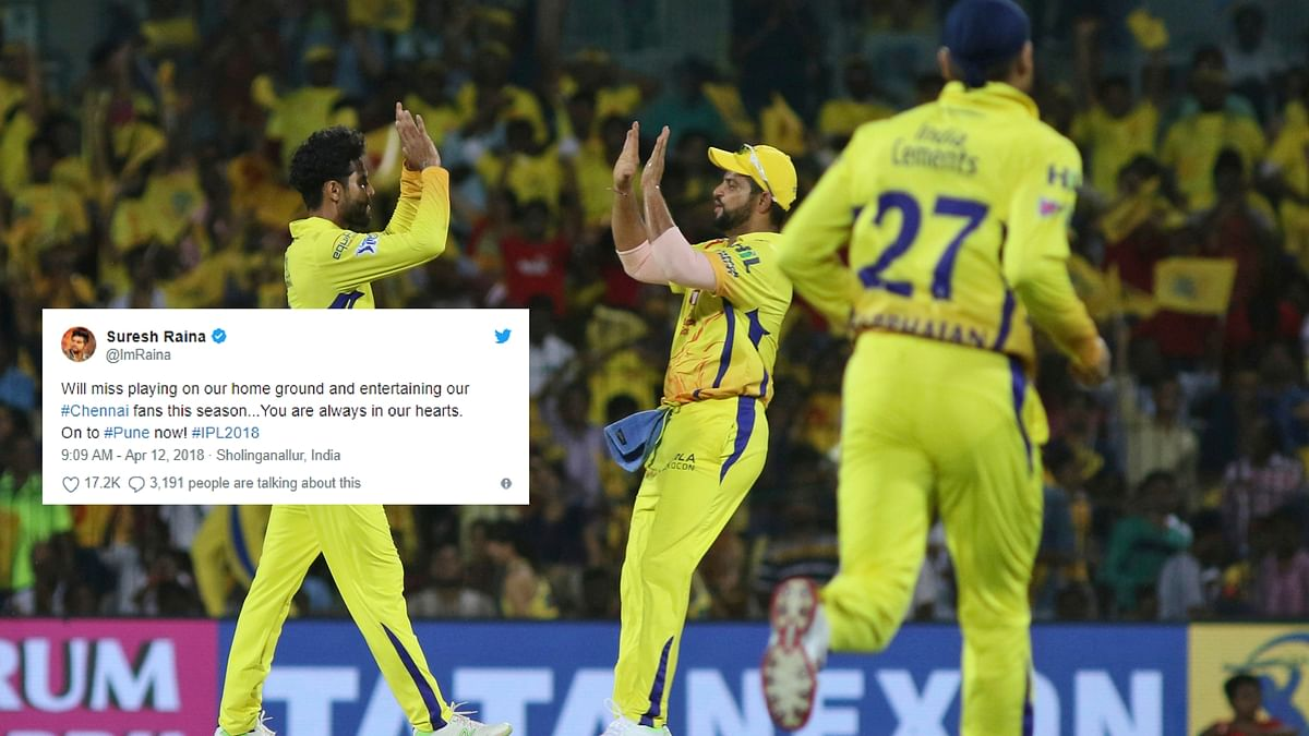 Over 10,000 people turned up for Chennai Super Kings' practice match.
