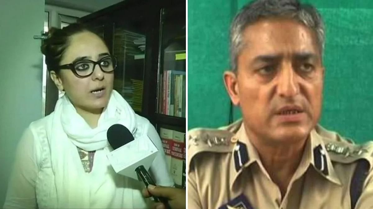 Deepika Singh Rajawat (L) and Ramesh Kumar Jhalla (R).