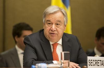 Antonio Guterres. (File Photo: Xinhua/Xu Jinquan/IANS)