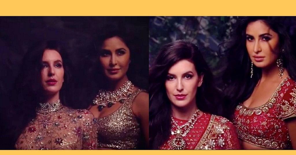 Check Out Katrina and Sister Isabelle Kaif's Bridal Look
