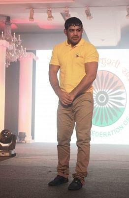 Wrestler Sushil Kumar. (Photo: IANS)