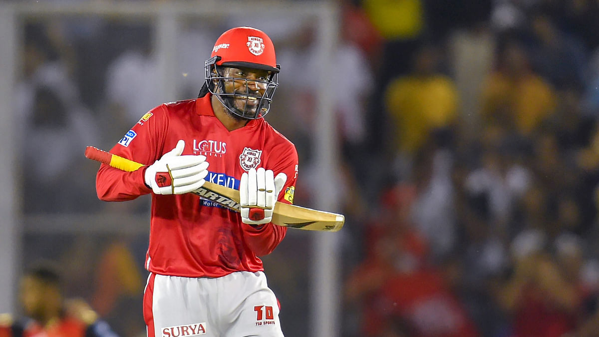West Indies batting star Chris Gayle has not featured in either of the IPL matches that KXIP have played so far.