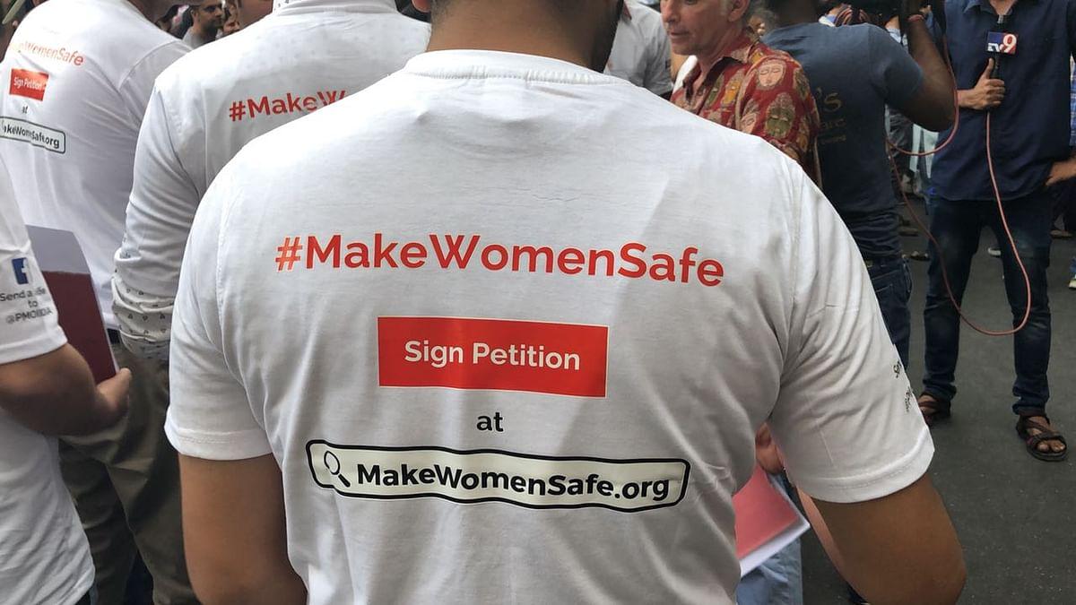 A plea to 'Make Women Safe'.