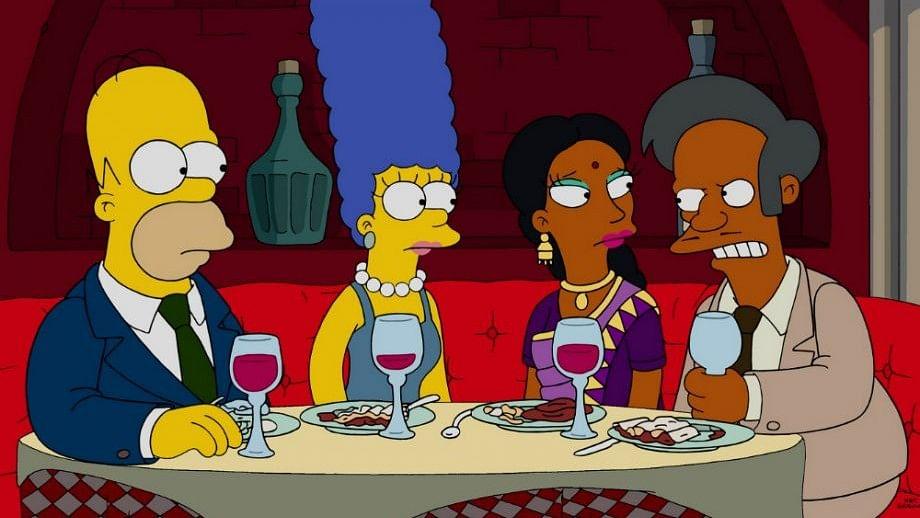A still from one of the episodes of <i>The Simpsons.</i>