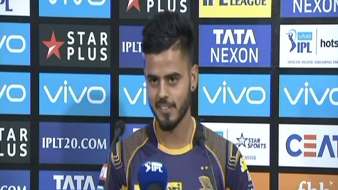 Nitish Rana On Getting Virat and AB Out on Back-to-back Deliveries