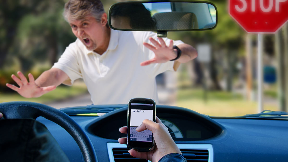 Volkswagen makes iPhone 8 cases made of car wrecks caused by texting while driving. Image used for representational purposes only.