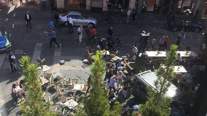 At Least 3 Dead As Van Rams Into Pedestrians in Germany's Muenster