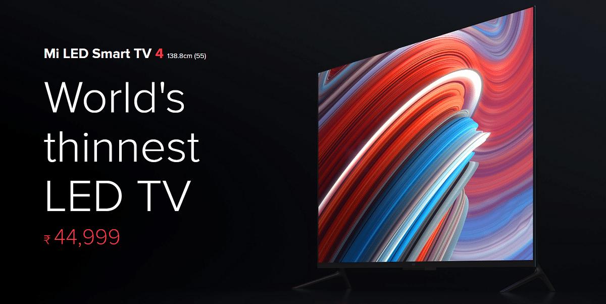 That's the new price of Xiaomi Mi TV 4.