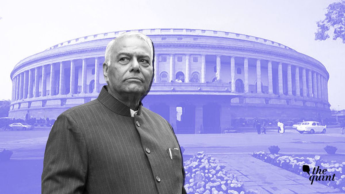 Unconstitutional for Govt to Present Full Budget: Yashwant Sinha