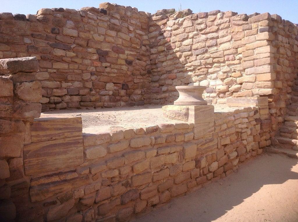 The Indus Valley site of Dholavira in Gujarat. (Photo Courtesy: Tony Joseph)