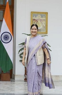 External Affairs Minister Sushma Swaraj. (File Photo: IANS)