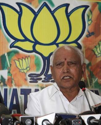 BJP's Yeddyurappa, others files nominations for Karnataka polls
