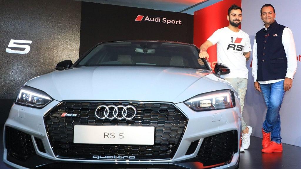 Virat Kohli launches Audi RS 5.