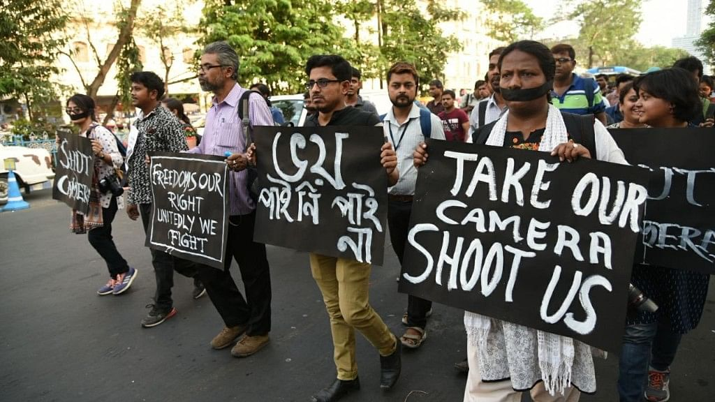Journalist Beaten, Stripped In Kolkata For Covering Poll Violence