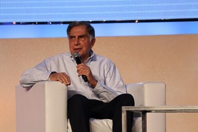 Ratan Tata visits Tata Motors Pune plant after five years