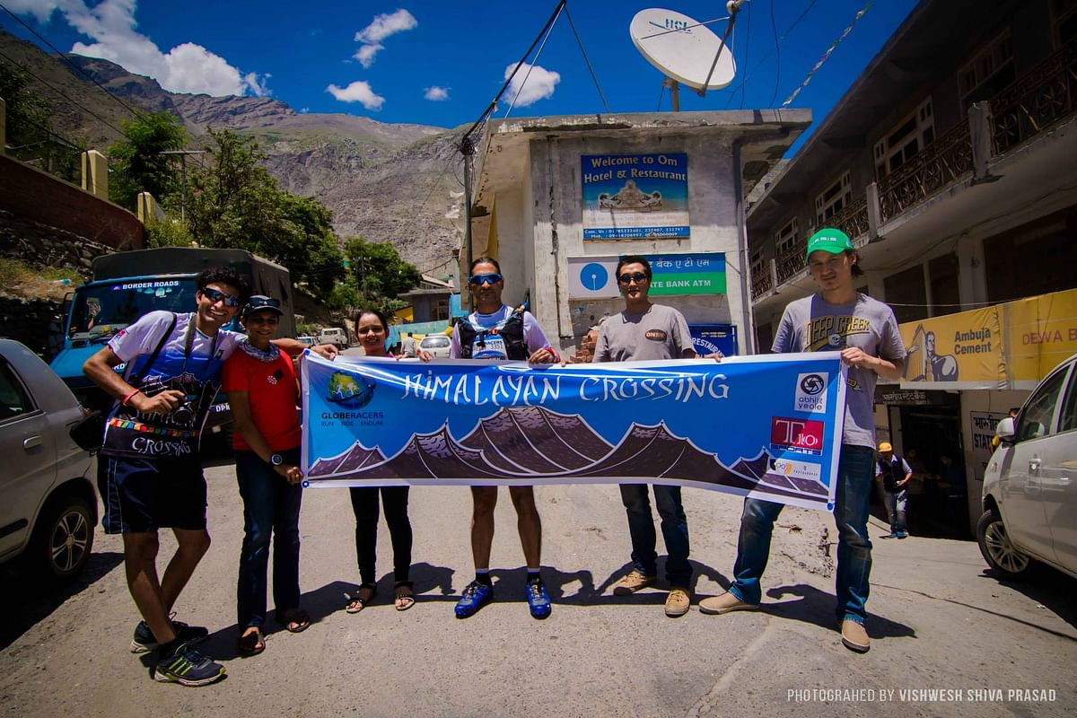 The race begins in Kaza and take the runners through some of the most majestic Himalayan landscape of Kinnaur and Spiti Valley.