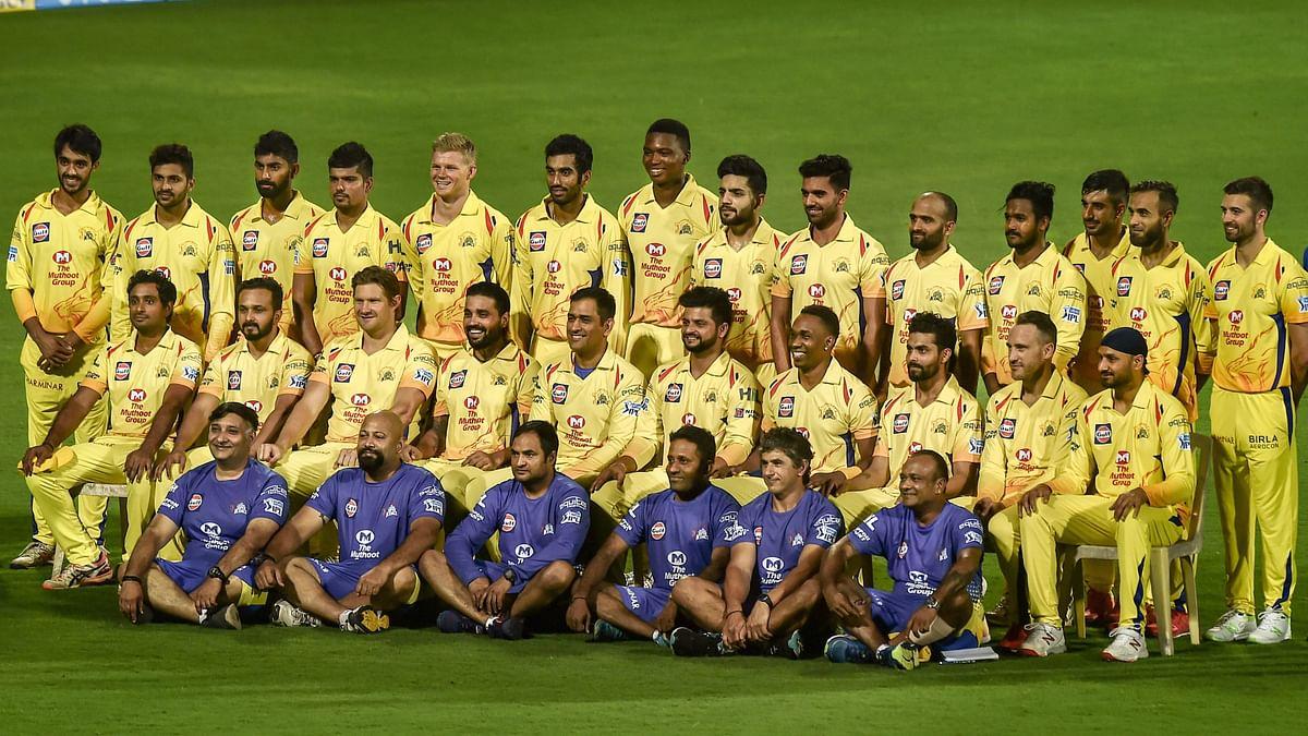 Chennai Super Kings entire squad for the 2018 IPL season.