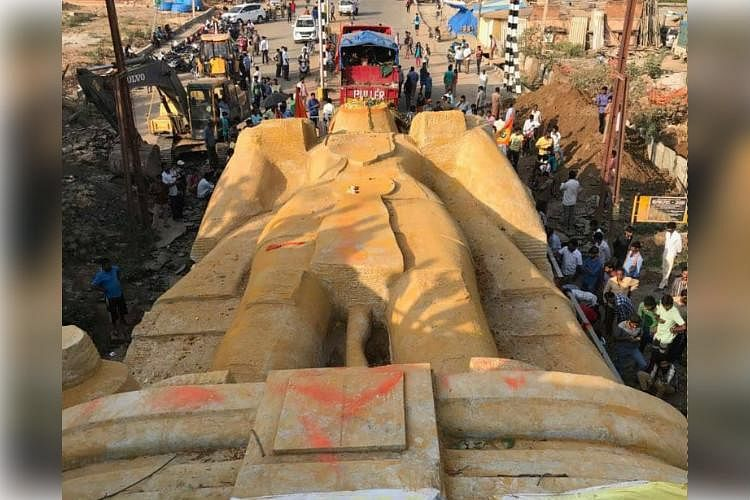 The Hanuman Statue