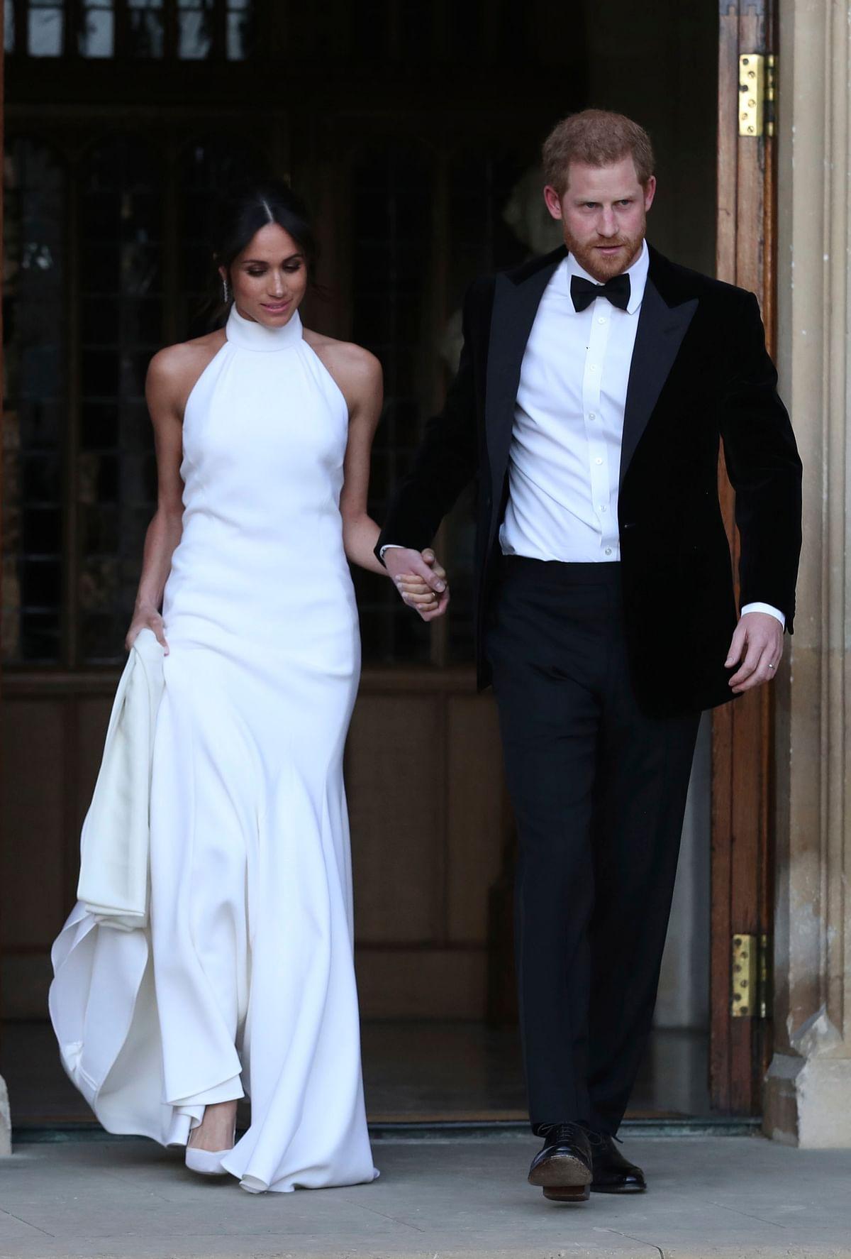 Royal Wedding: Prince Harry and Meghan Markle Now Husband & Wife