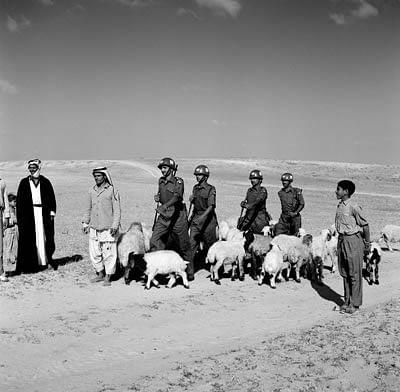Indian troops were part of the United Nations Emergency Force in the Middle East from 1956-1967.