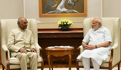 President, PM wish Gujarat, Maharashtra on Statehood Day. (Photo: IANS/PIB)